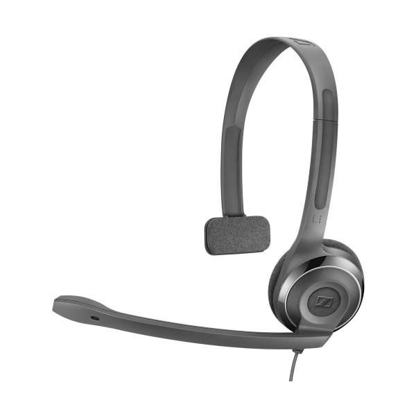 Sennheiser pc 7 chat usb negro auricular on-ear monoaural con micrófono y conector usb